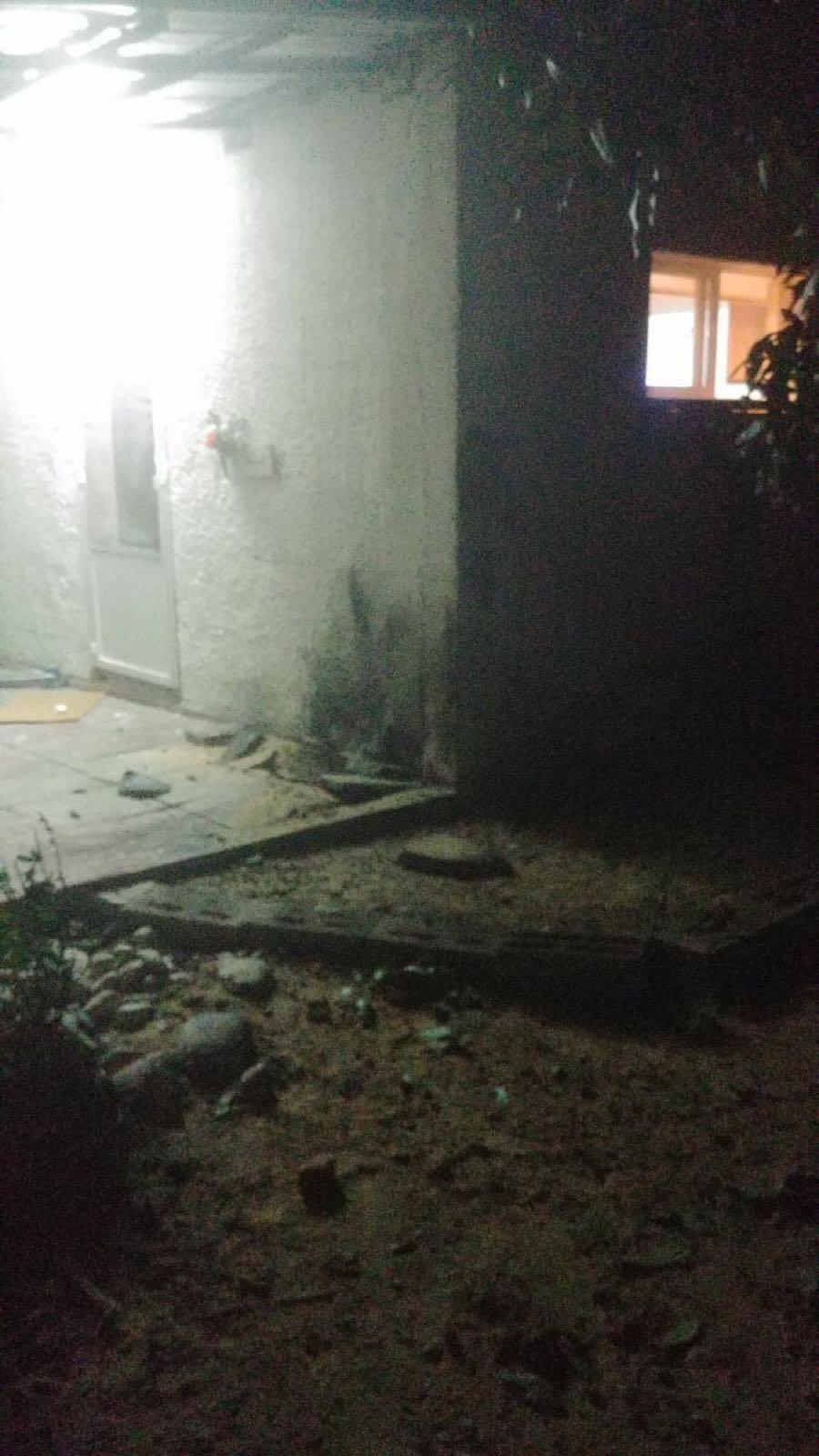 """ثلاث قذائق من قطاع غزة تجاه """"حوف أشكلون"""""""