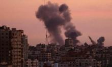 قوات الاحتلال تقصف مواقع بقطاع غزة