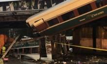 واشنطن:  قتلى وجرحى في حادث بعد خروج قطار عن مساره