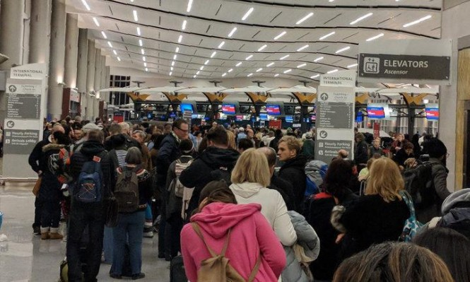 عطل كهربائي ضخم يعطل الرحلات في مطار أتلانتا