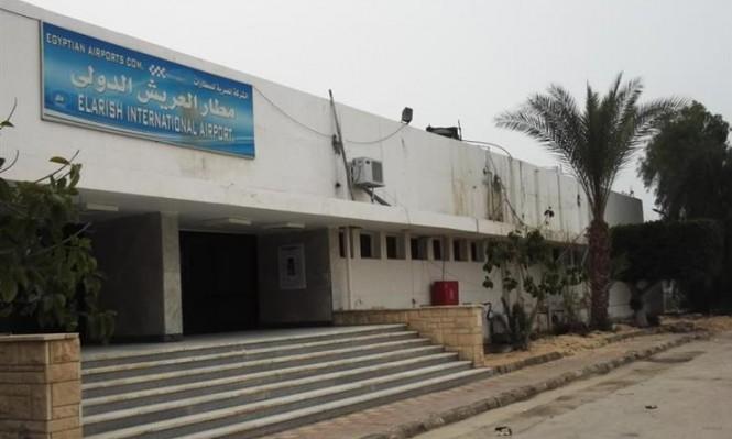 مقتل ضابط مصري في قذيفة استهدفت مطار العريش
