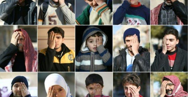"""#متضامن_مع_كريم: """"معاناة في الغوطة... وهذا ما نعنيه"""""""