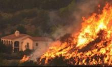 """كاليفورنيا: حالة استنفار قصوى تحسبا لتأجج الحريق """"توماس"""""""