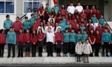 الصدفة تجمع 34 توأمًا بمدرسة واحدة في إزمير التركية
