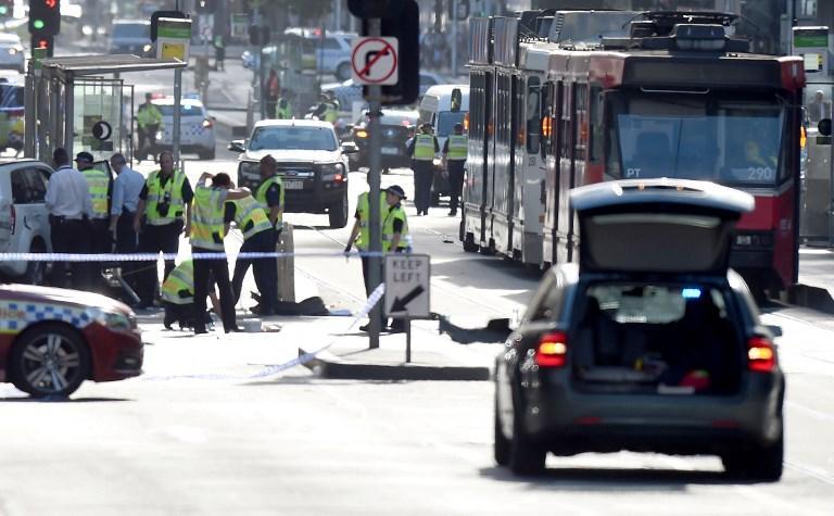 أستراليا: 14 مصابا بعملية دهس في ملبورن