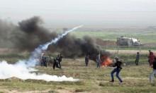 """""""غازٌ مجهول"""" في قمع الاحتلال لاحتجاجات الفلسطينيين"""