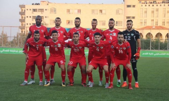 المنتخب الفلسطيني يسجل قفزة جديدة بتصنيف الفيفا