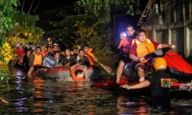 الفلبين: حصيلة ضحايا العاصفة الاستوائية ترتفع وتتخطى 130