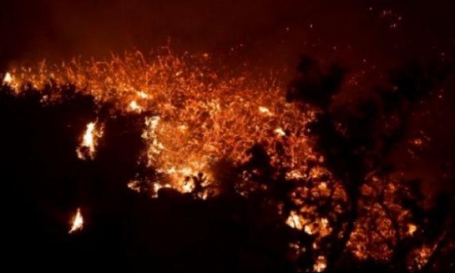 """الحريق """"توماس"""" يتحول إلى أكبر حرائق كاليفورنيا"""