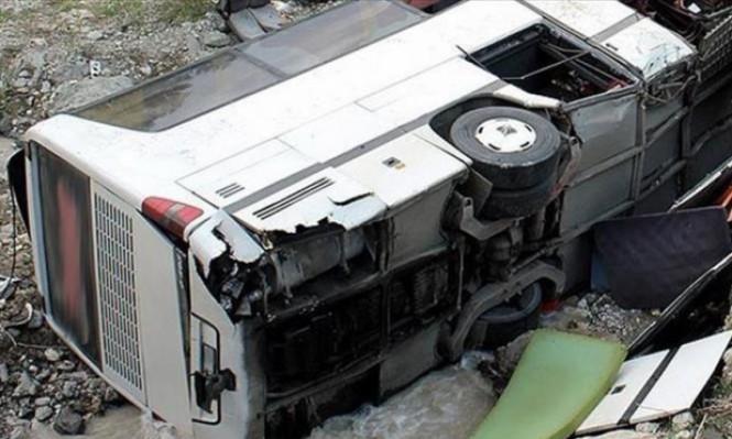 مصرع 13 شخصًا في حادث تصادم وسط مصر