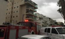 إصابة خطيرة لمسن في احتراق شقة سكنية بنهريا