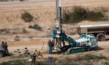 الاحتلال: بناء العائق التكنولوجي لاكتشاف أنفاق المقاومة بغزة