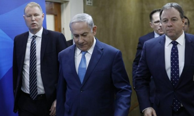 نتنياهو يحرض على إيران ويتهم عباس برفض مقترح ترامب