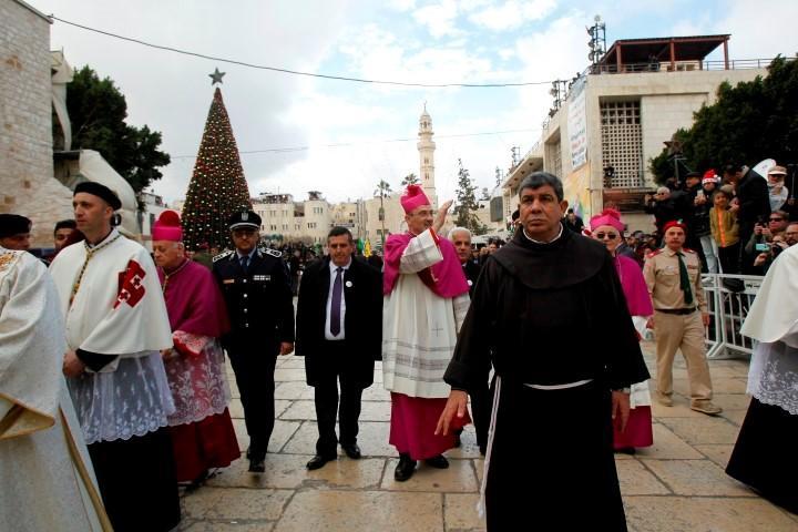 بيت لحم في الميلاد: القدس عاصمة فلسطين