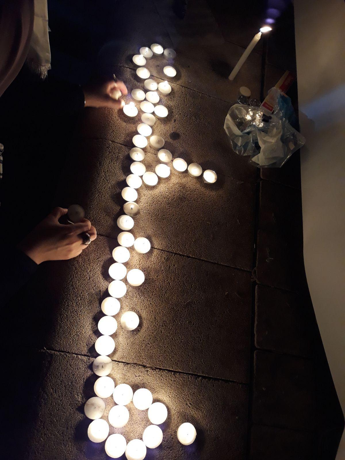 عين ماهل: تظاهرة حاشدة رفضًا لزيارة نتنياهو
