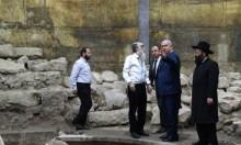 """نتنياهو يتطوع ليكون """"مرشدا سياحيا"""" للمسيحيين بالقدس المحتلة"""