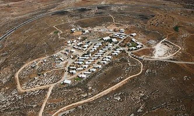السلطات الإسرائيلية تساهم في بناء البؤر الاستيطانية