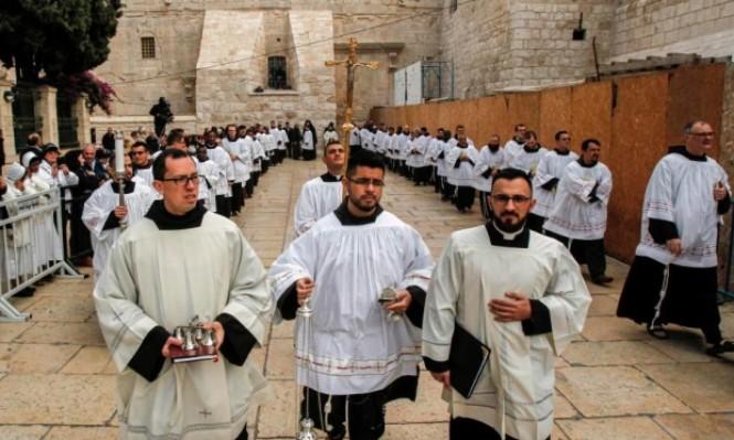 الفلسطينيون المسيحيون يلغون احتفالات الميلاد نصرة للقدس