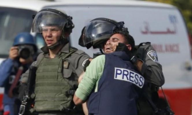 الاحتلال يصيب أكثر من 100 صحافي منذ إعلان ترامب