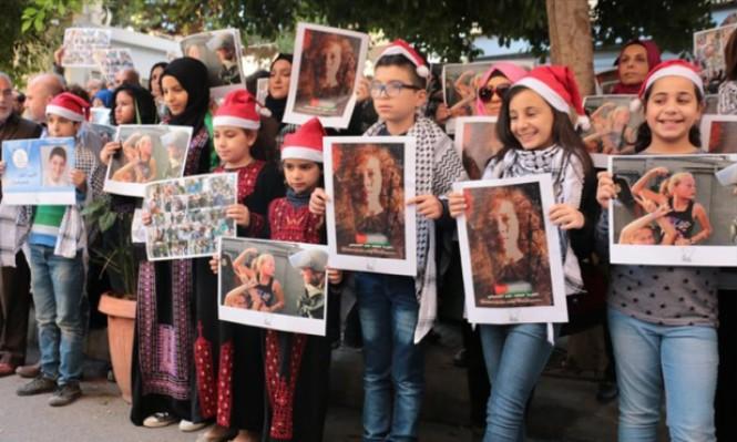 وقفة في بيروت تضامنا مع الأطفال بسجون الاحتلال