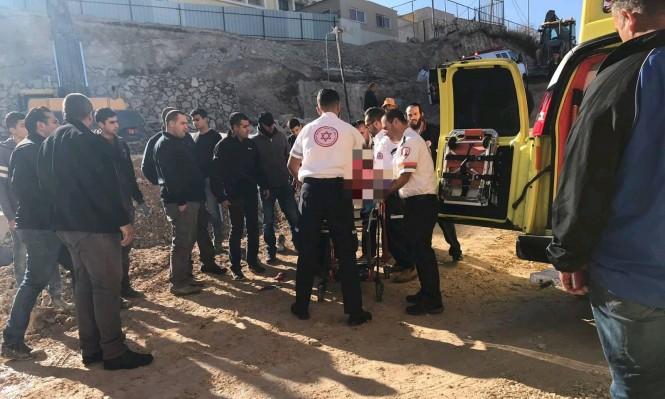الرينة: إصابة خطيرة لمواطن سقط من علو