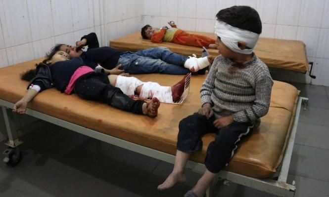 إجلاء مئات المرضى من الغوطة حاصرهم النظام السوري