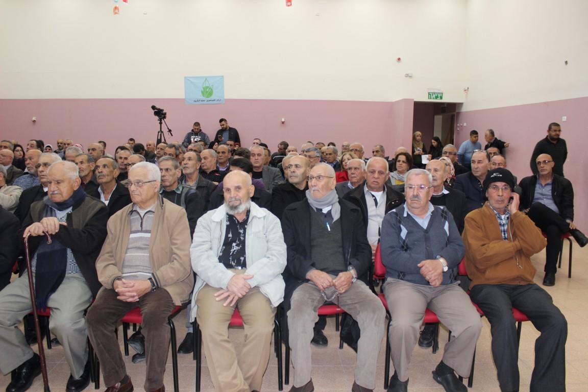 مجد الكروم: مشاركة واسعة في أمسية نصرة للقدس