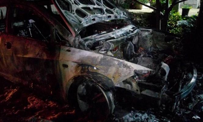 جديدة المكر: حرق سيارتين خصوصيتين