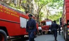 مقتل 15 في حريق بمبنى تجاري في بومباي