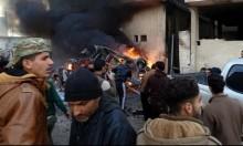 سورية: 22 قتيلا في 10 غارات على إدلب