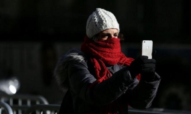 موجة شديدة البرودة في أميركا عشية العام الجديد
