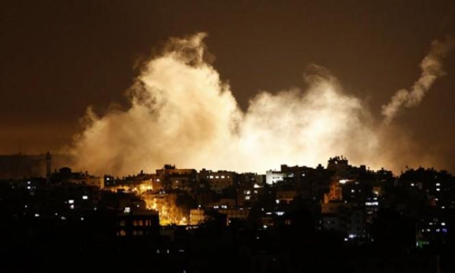 طائرات الاحتلال تقصف موقعا للمقاومة شرق رفح