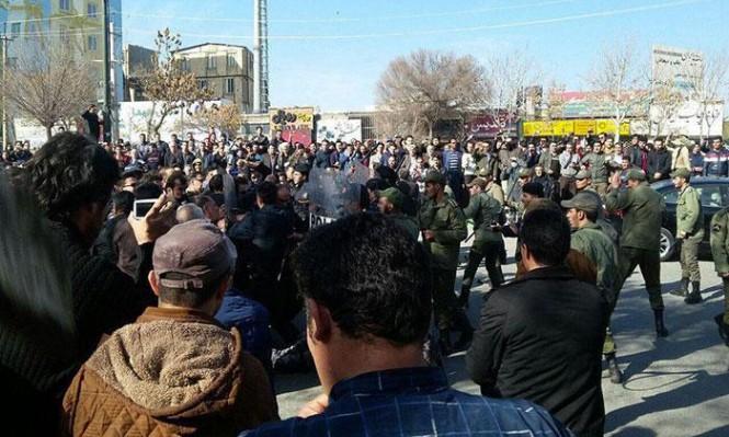 المظاهرات تتواصل بطهران وأنباء عن مقتل محتجين بغرب إيران