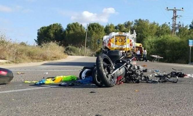 عام 2017: 32% من ضحايا حوادث الطرق عرب