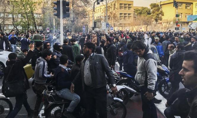 ارتفاع حصيلة قتلى الاحتجاجات بإيران لـ14 شخصا