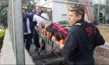 إصابة شخص في حريق شقة سكنية بإيلات