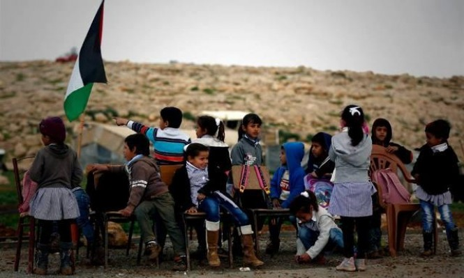 """سياسة الهدم قد تحرم طلاب """"أبو النوار"""" من مدرستهم الوحيدة"""