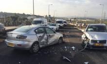 طمرة: 4 إصابات في حادث طرق
