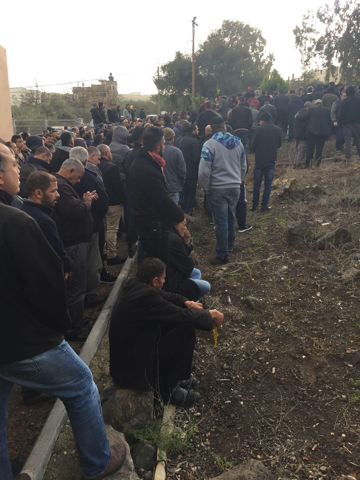 كفر مصر: تشييع جثمان رضوان صبيحي بعد وصوله من تايلاند
