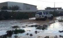 """مياه الأمطار تحاصر سكان """"السهل الشرقي"""" في الطيرة"""