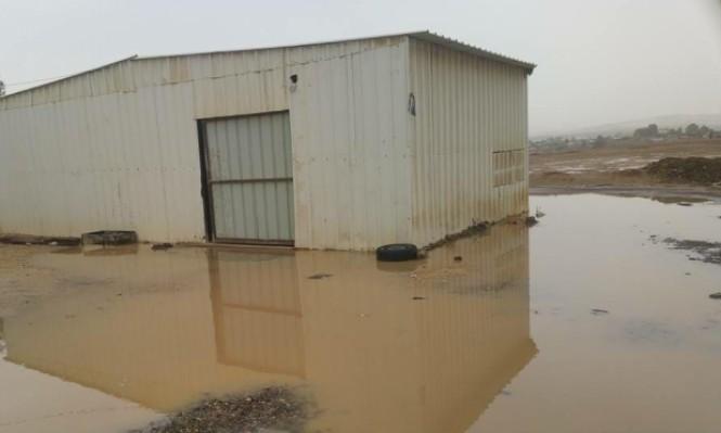 النقب: القرى مسلوبة الاعتراف تعاني من العاصفة والإهمال