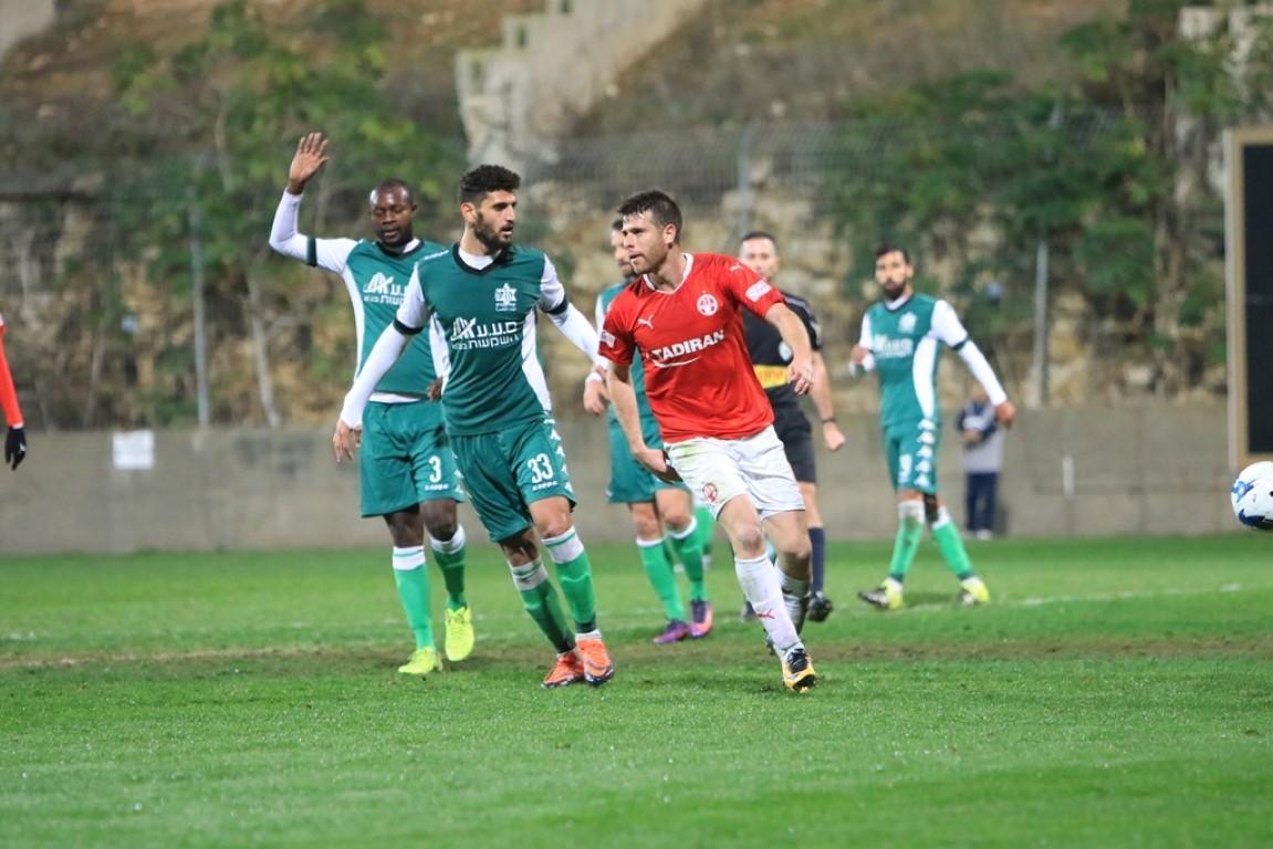أخاء الناصرة خارج المنافسة على كأس الدولة