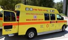 وادي سلامة: 3 إصابات إحداها خطيرة في حادث طرق