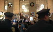 المئات يتظاهرون في نيويورك للإفراج عن عهد التميمي
