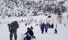 فتح منتجع جبل الشيخ أمام الزائرين مجانا