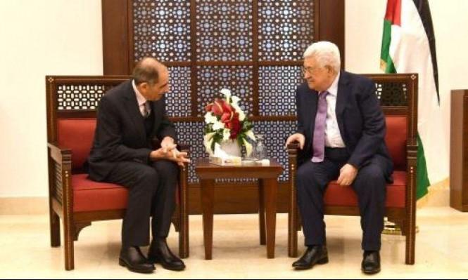 عباس يجتمع بوزير الداخلية الأردني عقب قداس الميلاد