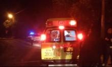 عرب الهيب: إصابة خطيرة لشاب في حادث طرق