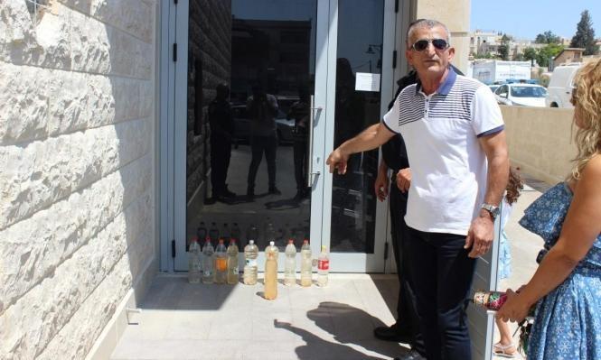 تلوث المياه في كفر ياسيف وأبو سنان وجديدة والمكر
