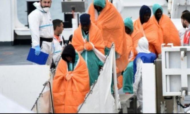 مصرع 10 مهاجرين وفقدان أكثر من 50 قبالة ليبيا