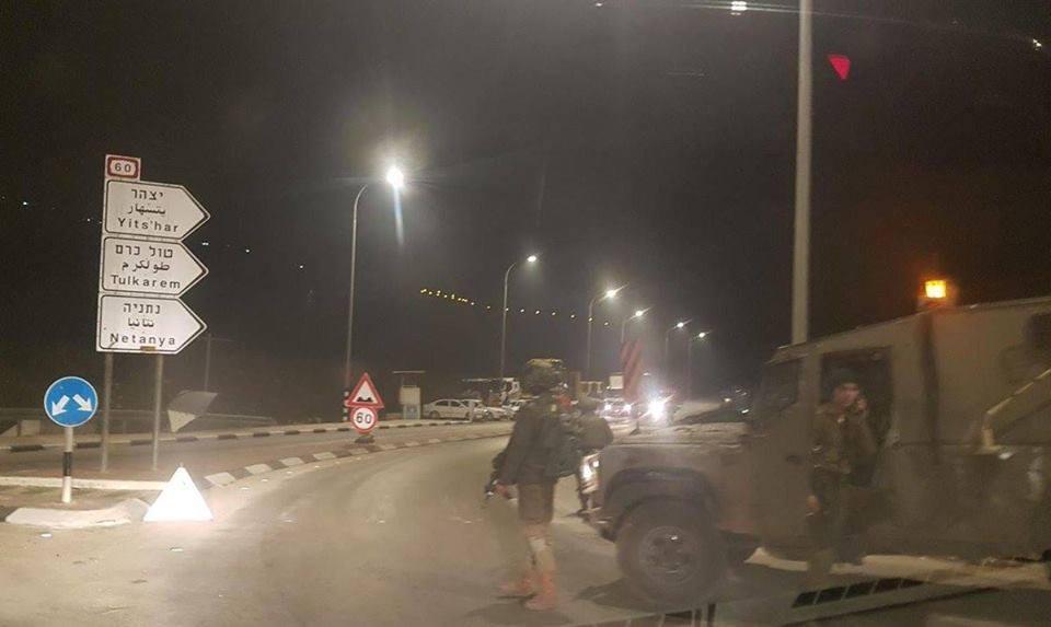 مقتل مستوطن في عملية إطلاق نار جنوب نابلس